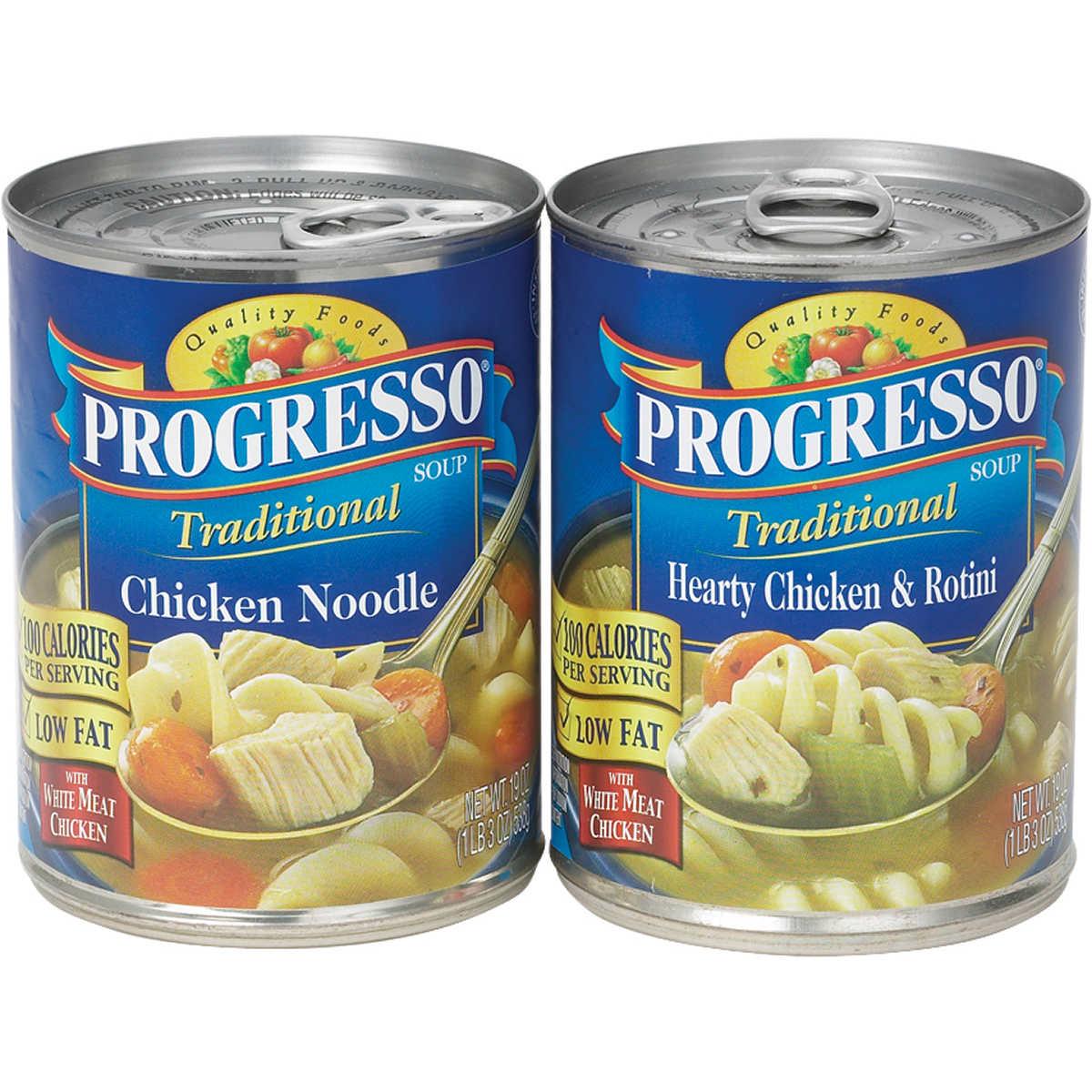 Progresso Soup, Variety Chicken, 19 oz