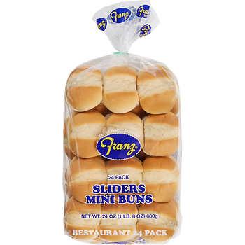 Franz Sliders Mini Buns, 24 ct