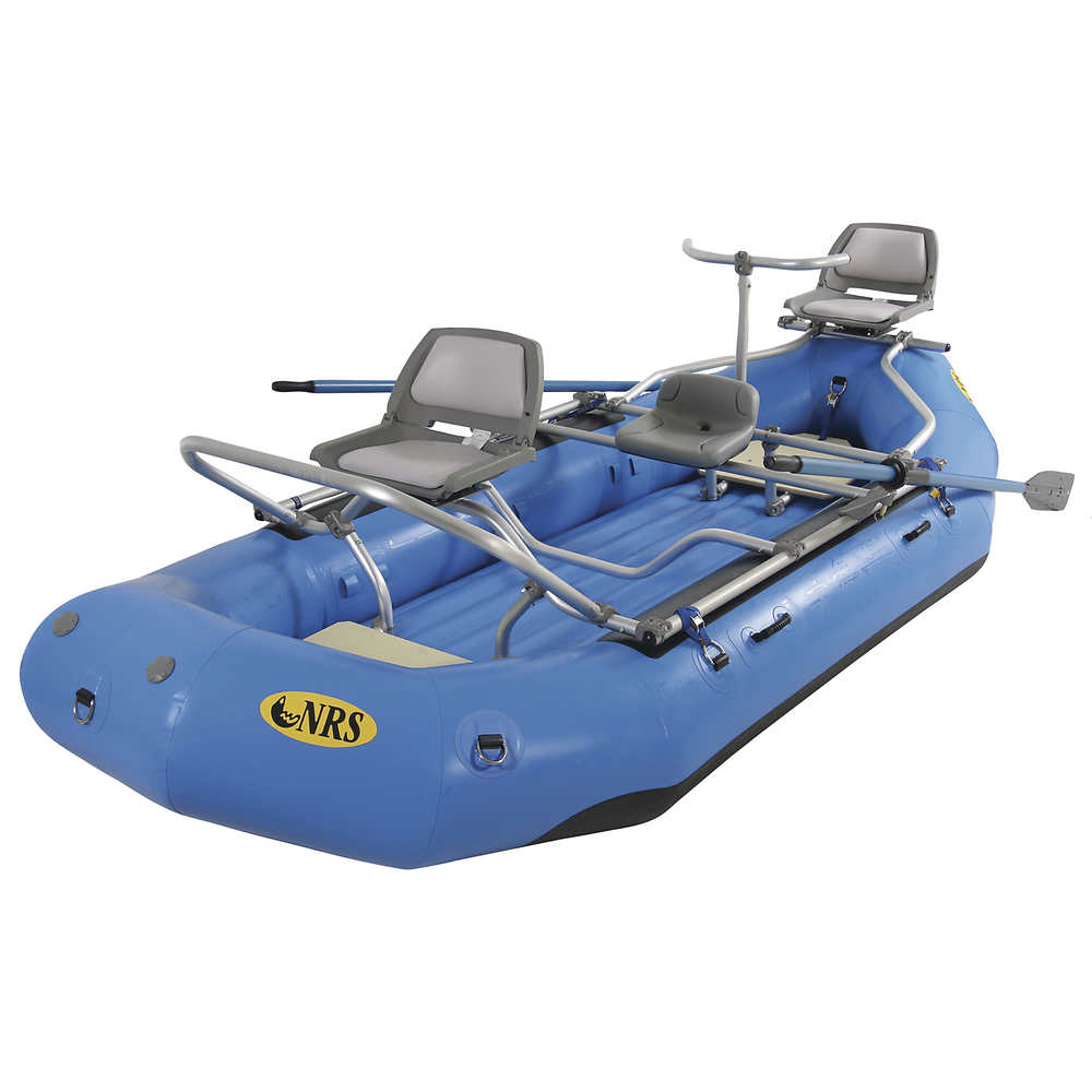 Nrs otter 130 fishing package previous model at for Fishing rafts for sale