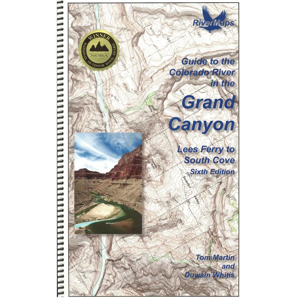 RiverMaps Colorado River In The Grand Canyon Th Ed Guide Book At - Colorado river map world atlas