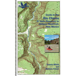 RiverMaps Rio Chama New Mexico Guide Book