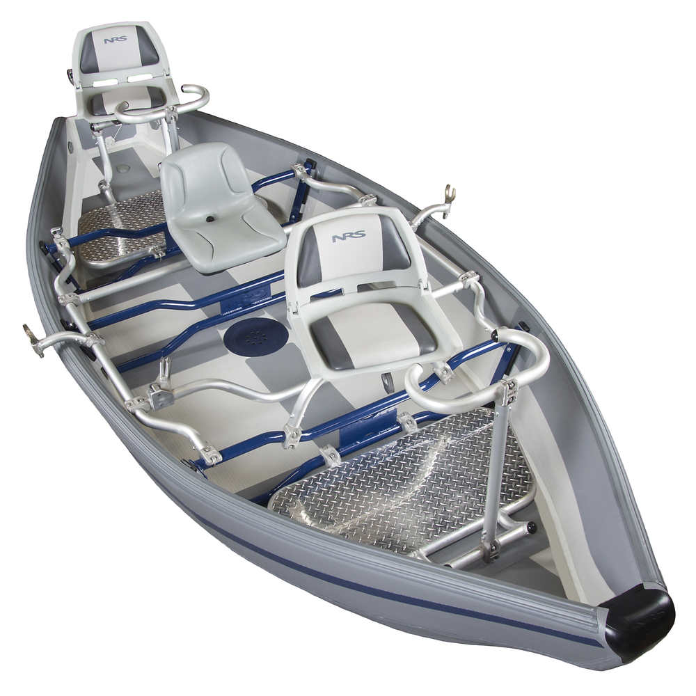 Nrs freestone drifter boat previous model at for Fly fishing raft for sale