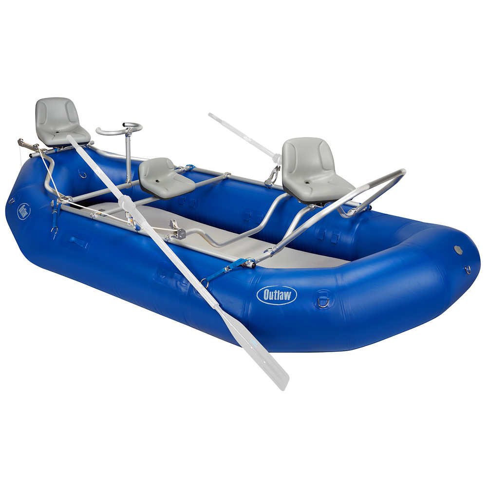 Nrs outlaw 140 raft fishing package at for Fishing rafts for sale