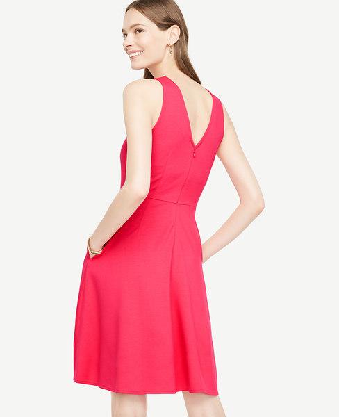 Pocket Flare Dress at Ann Taylor in 753 Eastvi Victor, NY | Tuggl