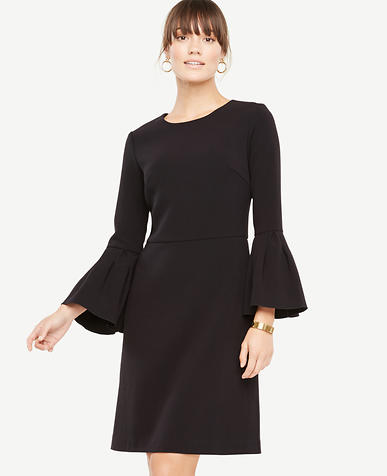 Bell Sleeve Flare Dress
