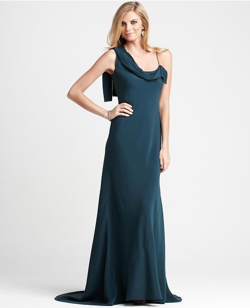 Carolyn One Shoulder Gown