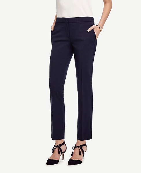 The Ankle Pant in Seasonless Stretch - Devin Fit