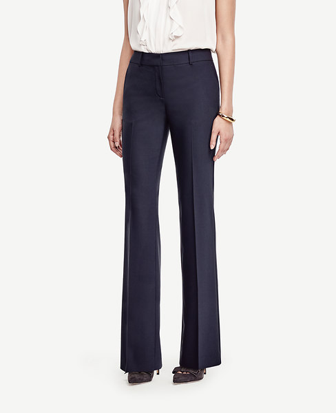 The Trouser in Tropical Wool - Ann Fit