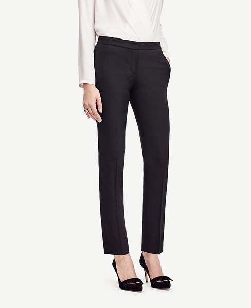 The Ankle Pant in Seasonless Stretch - Kate Fit