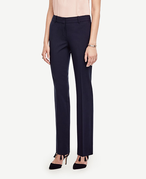 The Straight Leg Pant in Seasonless Stretch - Ann Fit