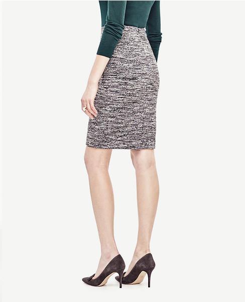 Tall Bonded Knit Pencil Skirt | Ann Taylor