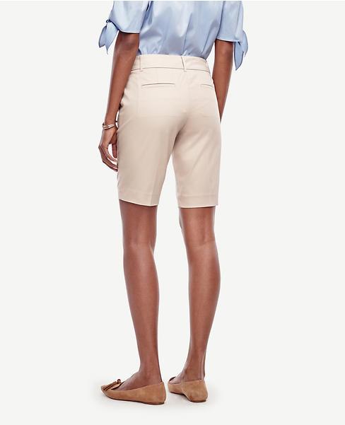 Devin Cotton Walking Shorts | Ann Taylor