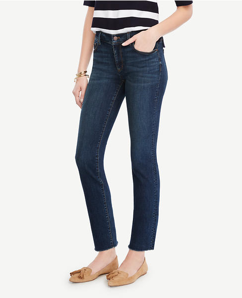 Frayed Crop Jeans