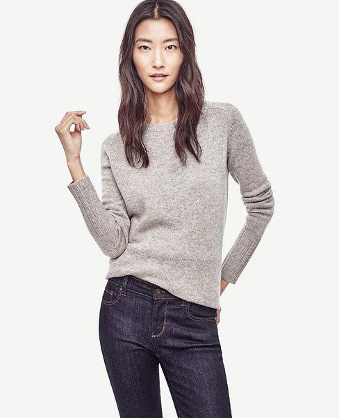 Wool Cashmere Tunic Sweater