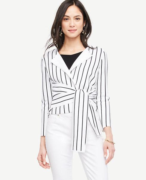 Twist Tie Front Jacket