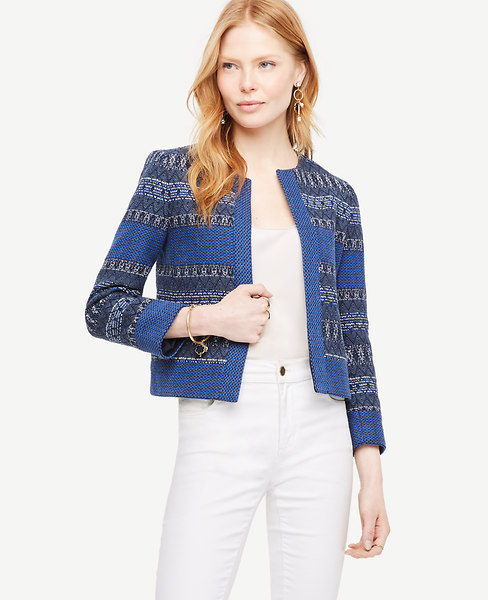 The Mixed Stripe Jacket