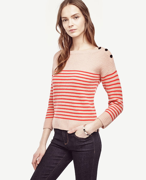 Striped Wool Cashmere Sweater