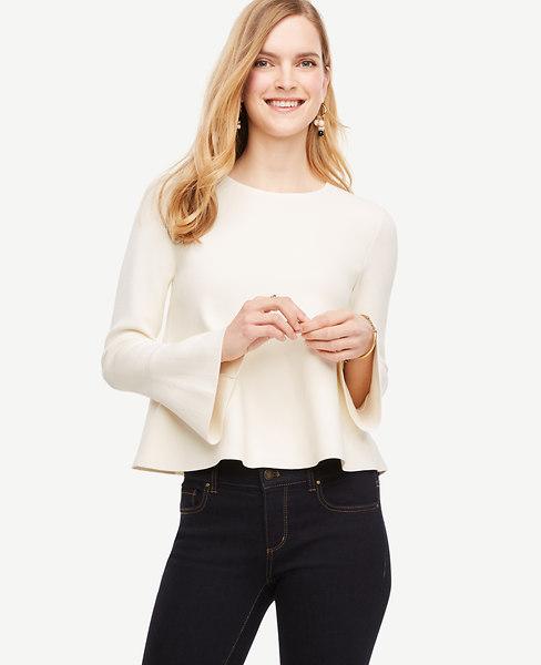 Flare Cuff Sweater
