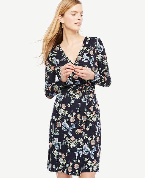 Wild Flower Wrap Dress