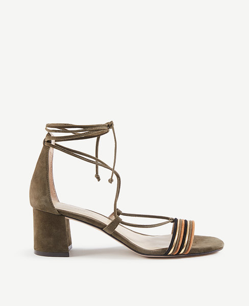 Genevieve Block Heel Sandals