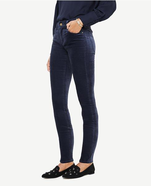 Modern Skinny Velvet Jeans