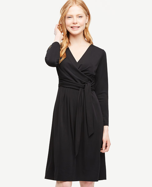 Shirred Side Tie Dress