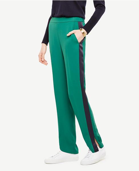Tux-Stripe Track Pants