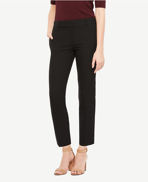 The Ankle Pant In Double Cloth - Kate Fit