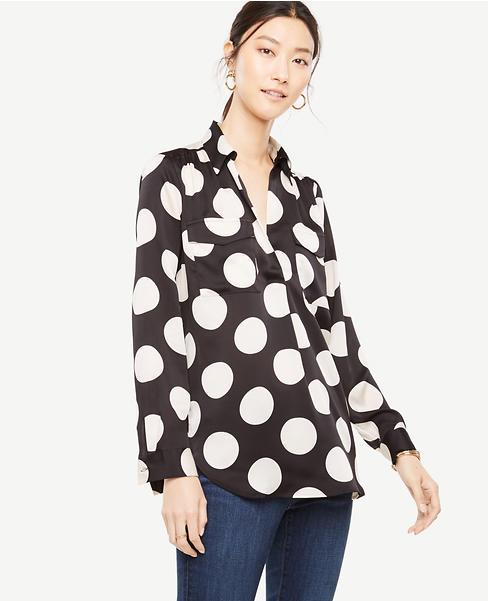 Polka Dot Camp Shirt