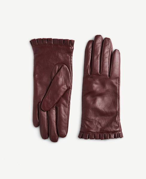 Ann Taylor Leather Gloves
