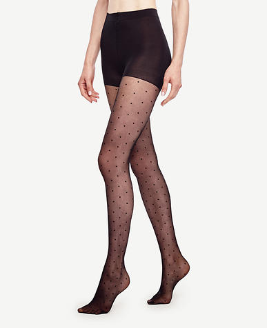 Image of Sheer Dot Tights