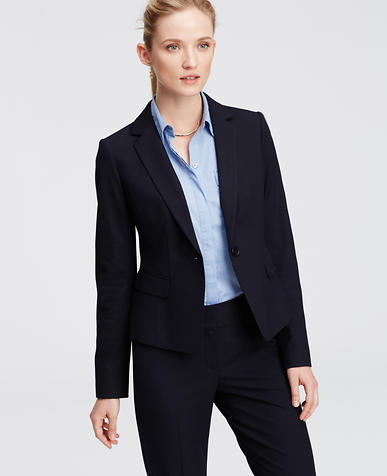 Image of All-Season Stretch One Button Jacket