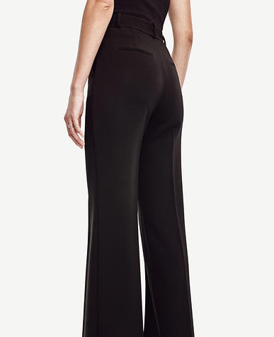 Image of Triacetate Doubleweave Flare Trousers
