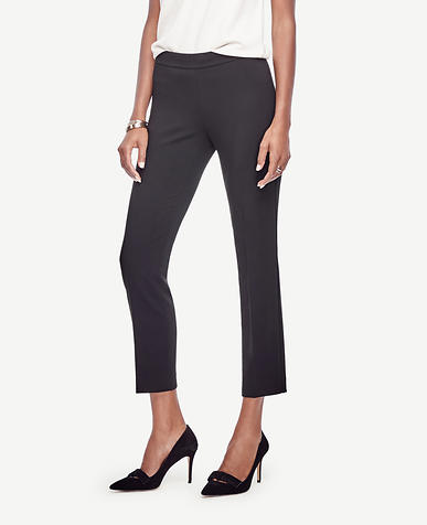 Image of Side Zip Slim Ankle Pants