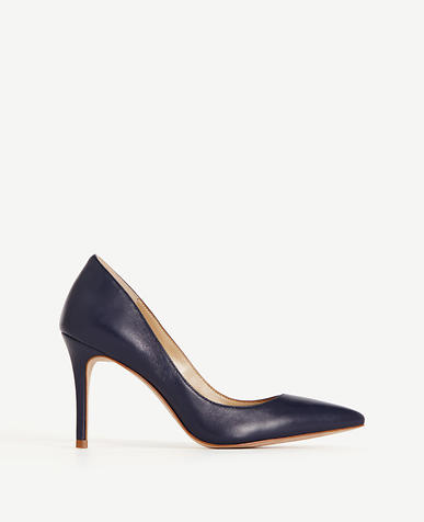 Image of Mila Leather Pumps