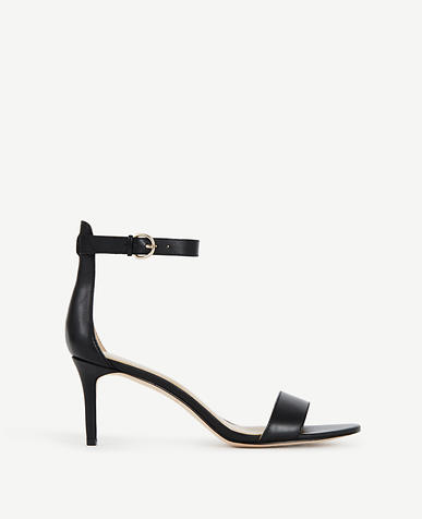 Image of Kaelyn Leather Strappy Sandals