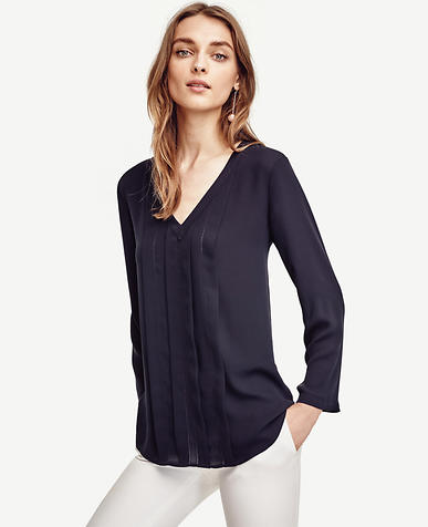Image of Pleated Cutout Top