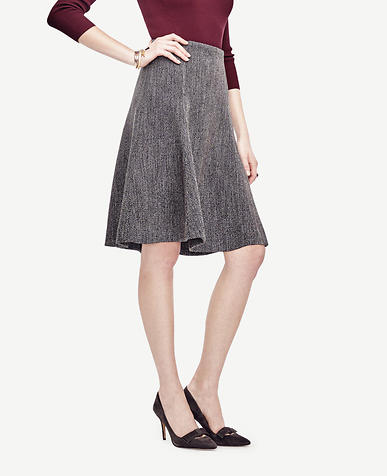 Image of Twill Flare Skirt