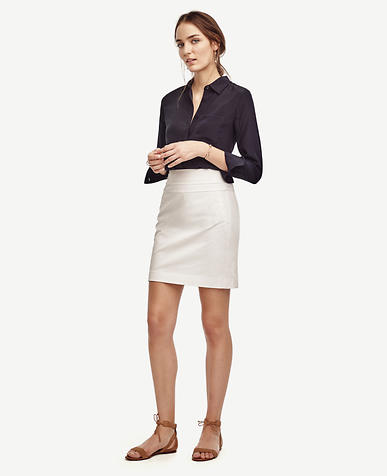 Image of Cotton Twill Skirt