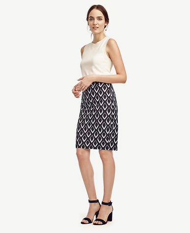 Image of Diamond Pencil Skirt