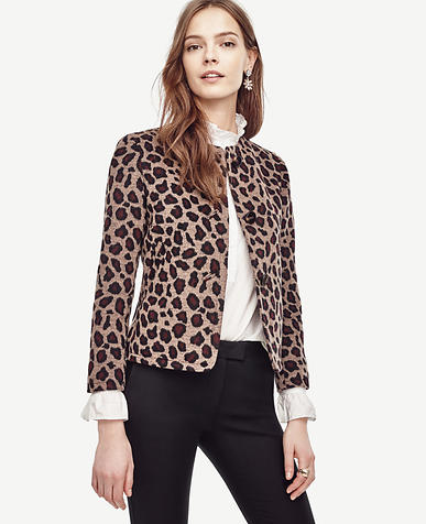 Image of Spotted Collarless Jacket