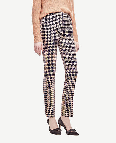 Image of Houndstooth Ankle Pants