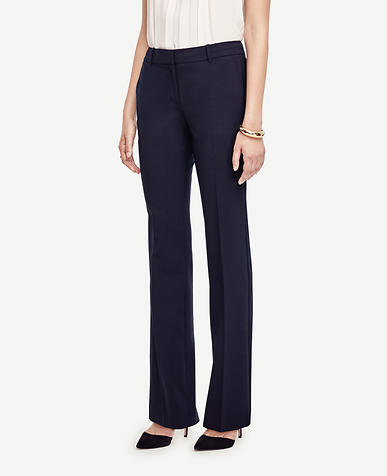 The Trouser in Seasonless Stretch - Ann Fit