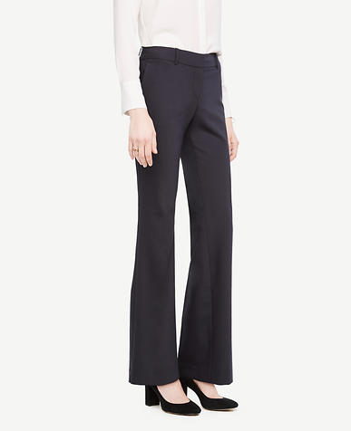 The Trouser In Tropical Wool - Kate Fit