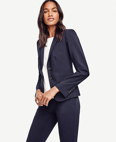 Image of Petite Seasonless Two Button Jacket