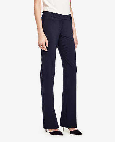 The Tall Trouser in Seasonless Stretch - Kate Fit