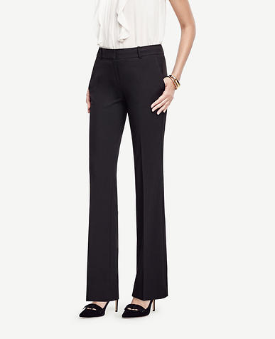 Image of The Petite Trouser in All-Season Stretch - Ann Fit