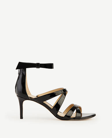 Image of Kelli Patent Bow Sandals