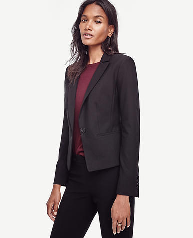 Image of Paneled All-Season Stretch One Button Jacket