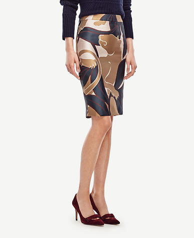 Image of Jungle Cat Pencil Skirt